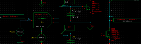 Portion of a schematic diagram