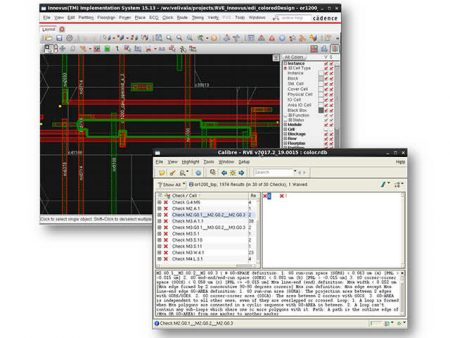 RVE integration with Layout and Schematic