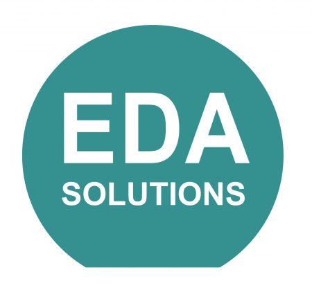 EDA logo circle