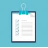 Policy check list icon