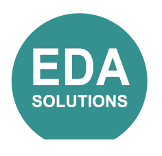 EDA Solutions circle logo